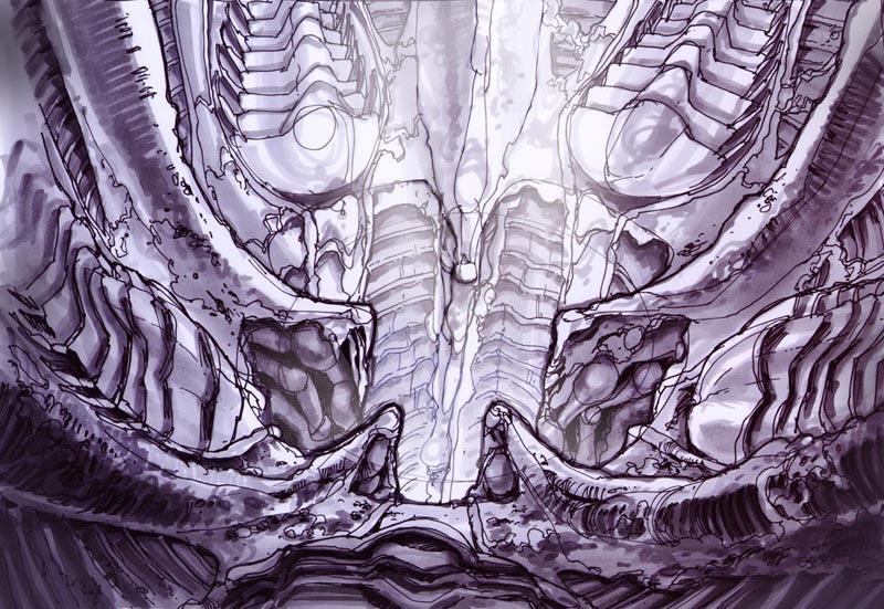 Artwork de Starcraft: Ghost.