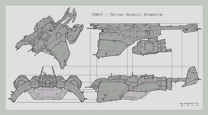 Artwork de Starcraft: Ghost (février 2003)