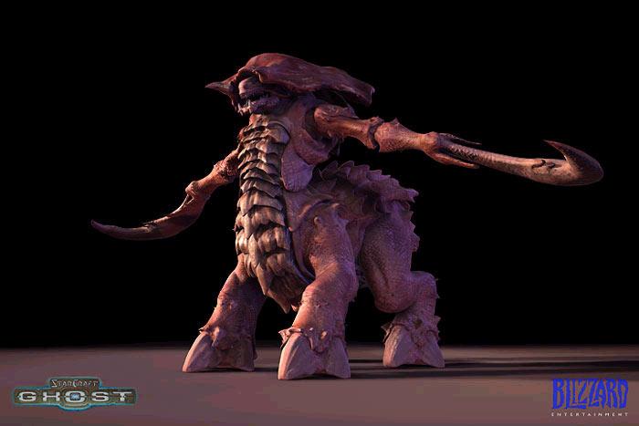 Artwork de Starcraft : Ghost (mars 2003)