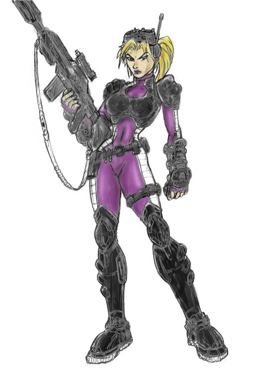 Artwork de Starcraft: Ghost
