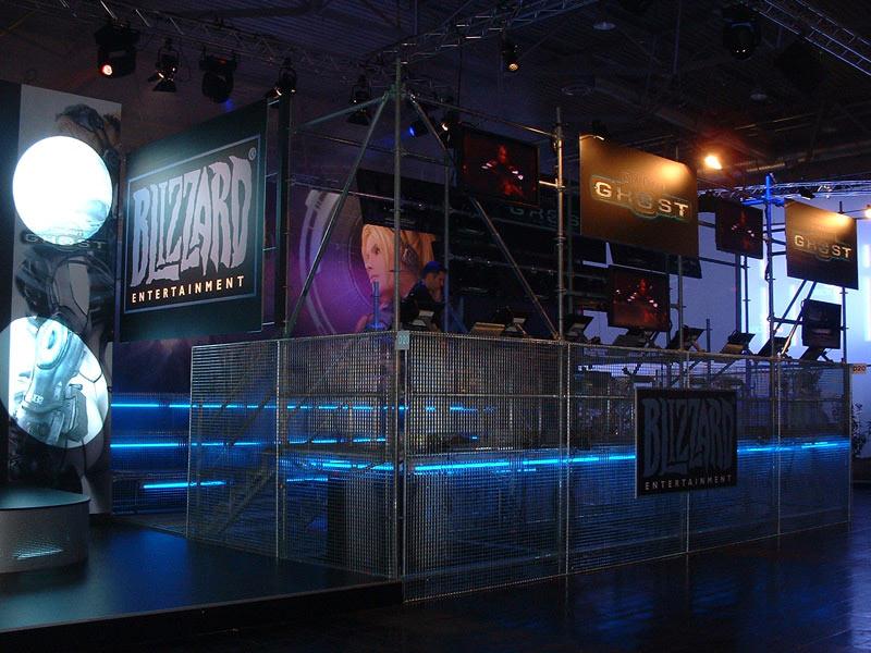 Stand de Starcraft: Ghost lors du Games Convention de Leipzig en 2005.
