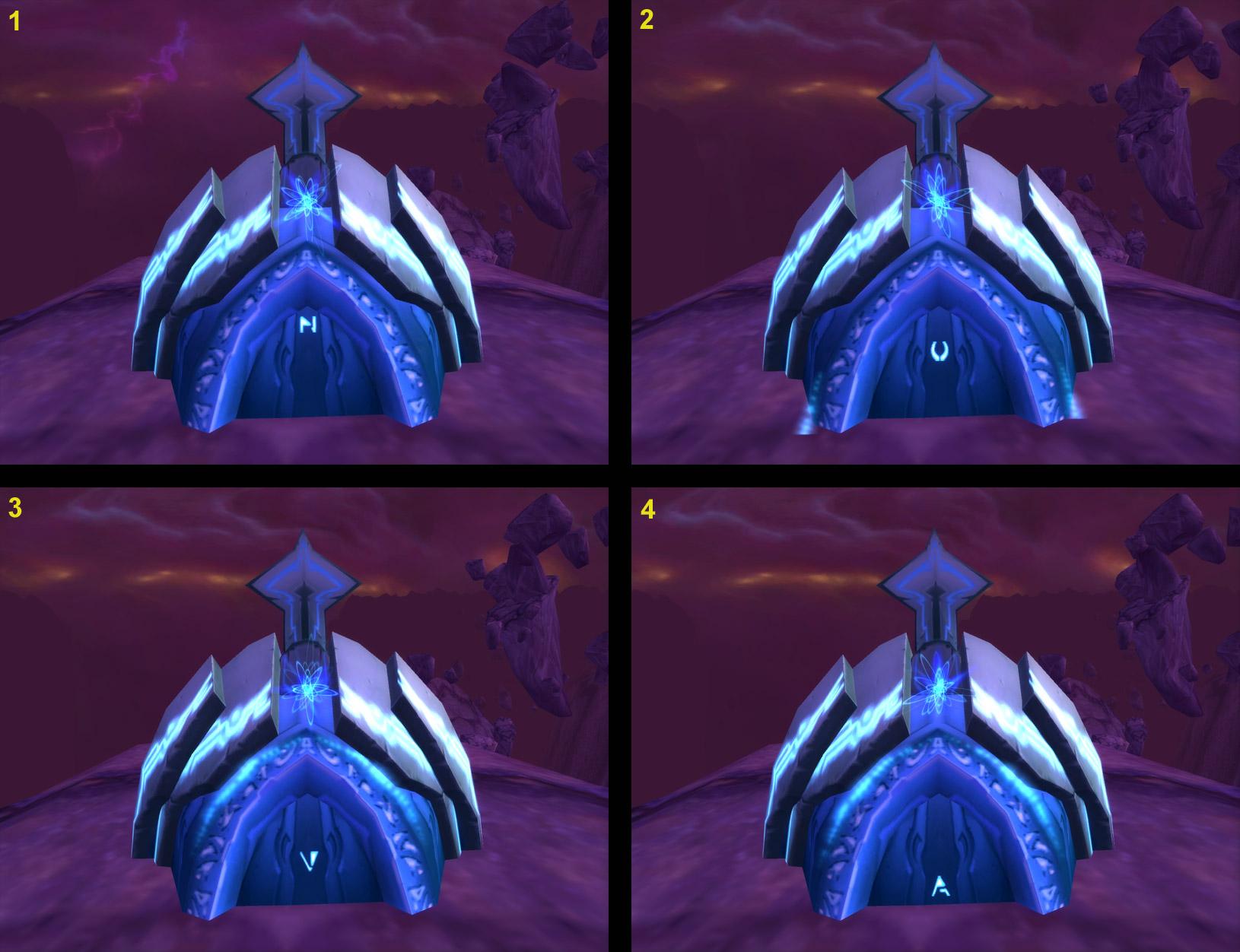 Référence à Nova dans la zone Raz-de-Néant de World of Warcraft.