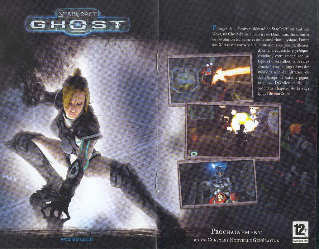 Publicité disponible dans la boîte de World of Warcraft.