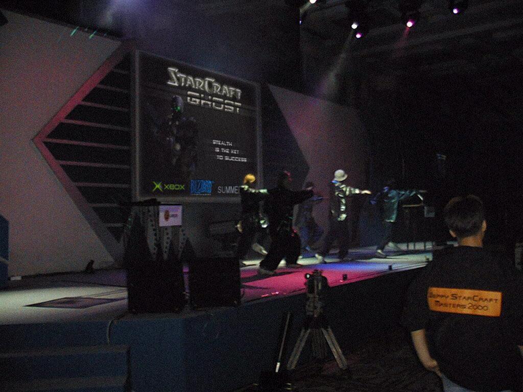 Stand de Blizzard au Tokyo Game Show 2002