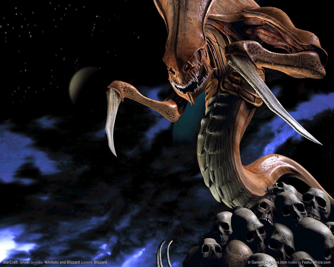 Fond d'écran réalisé par Blizzard (1280x1024)