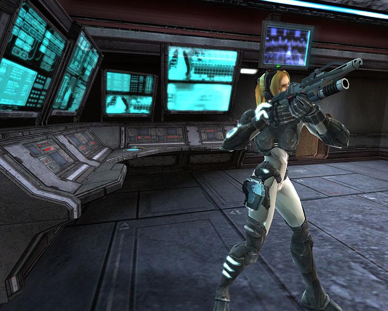 Screenshot de Starcraft: Ghost (août 2005).