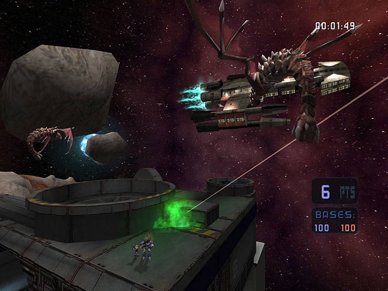 Screenshot de Starcraft: Ghost (janvier 2006).