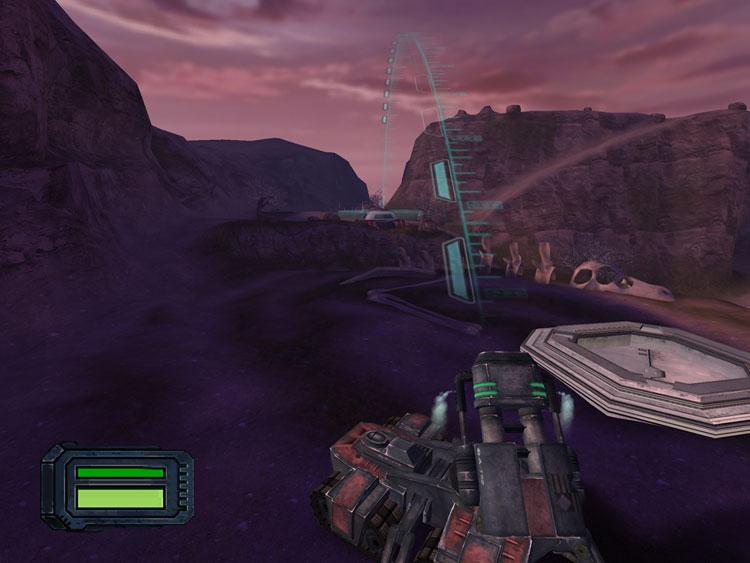Screenshot de Starcraft: Ghost (mai 2005).